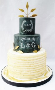 Chalkboard wedding cakes and specialty cakes are all the rage and perfect for any special event in the PHiladelphia area
