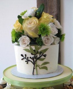 Wedding cakes can come in different sizes and flavors
