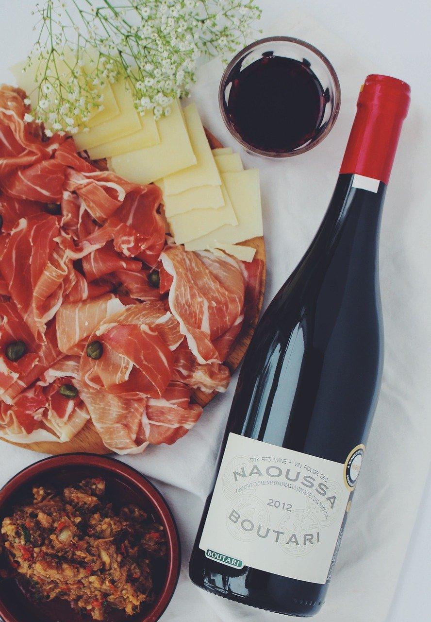 aperitif, charcuterie, wine-1246311.jpg