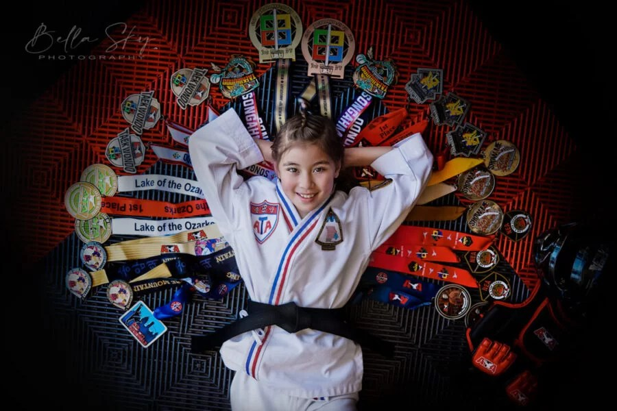 taekwondo kid's medals and trophies