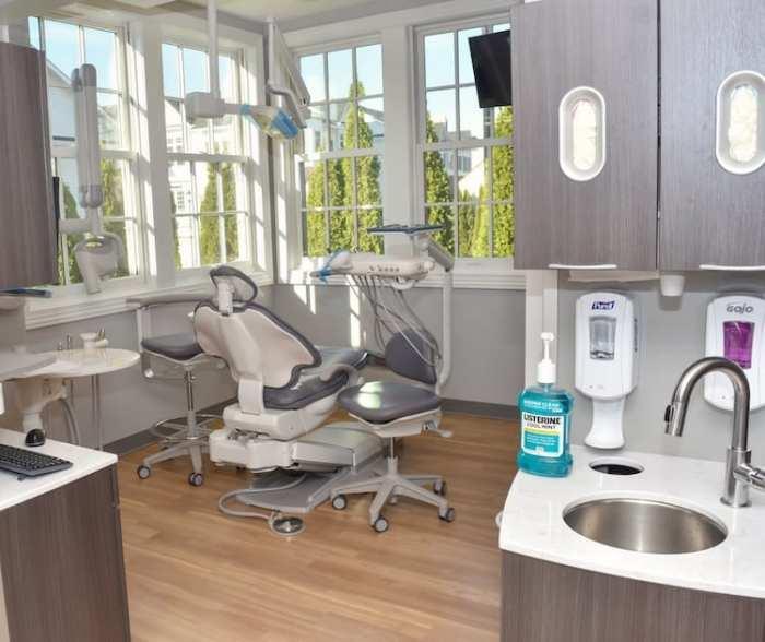 examination room in Roslyn NY dentist office