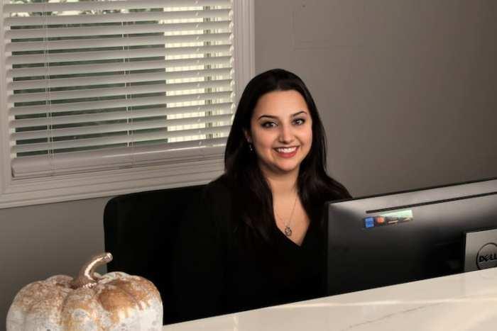 Katie John Receptionist