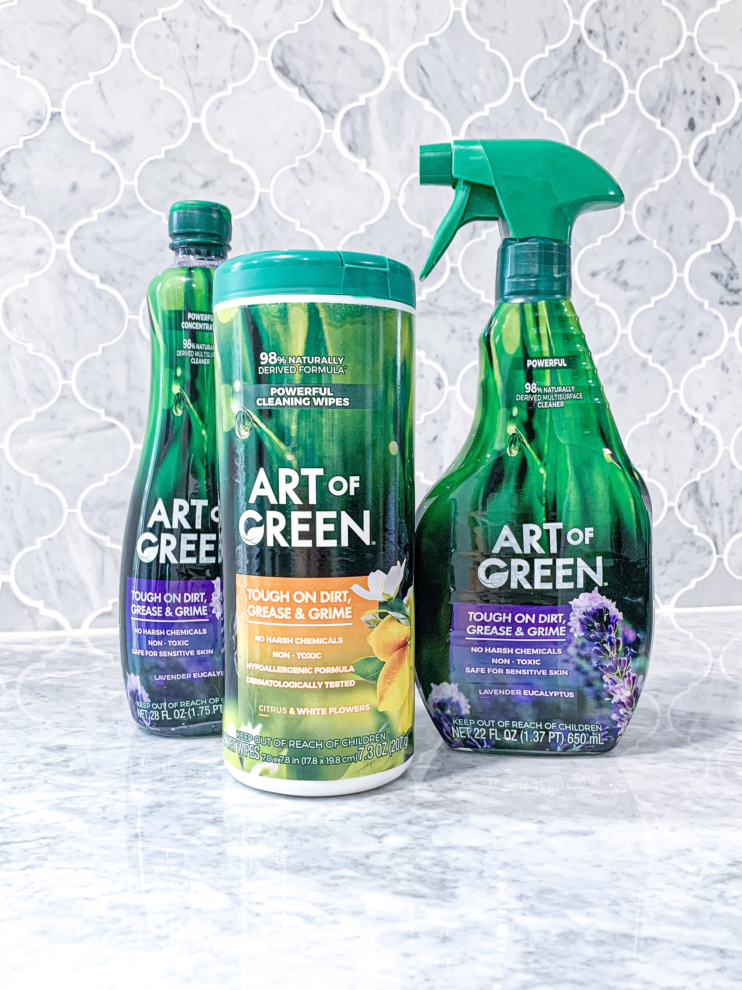 Art Of Green™ cleaning products
