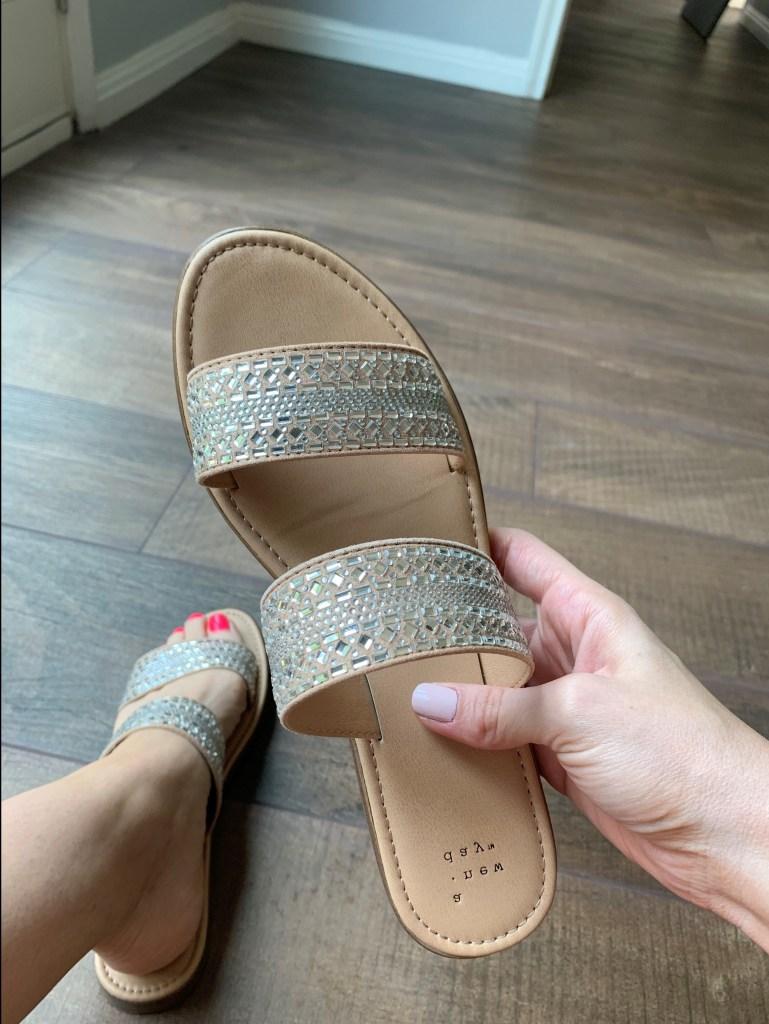 Sandals at Target