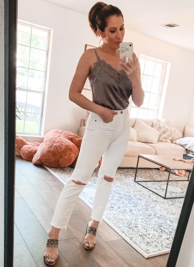 8 Ways to Style White Denim For Summer