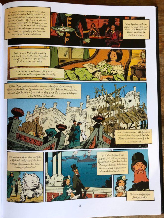 Aus Kaiserin Charlotte 1, Seite 31