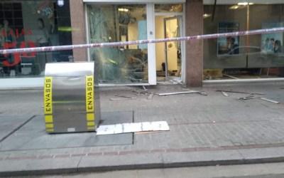 Es registra una explosió en una oficina bancària de Cerdanyola