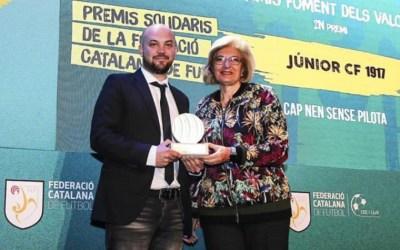 Cap Nen Sense Pilota rep el segon premi al foment de valors