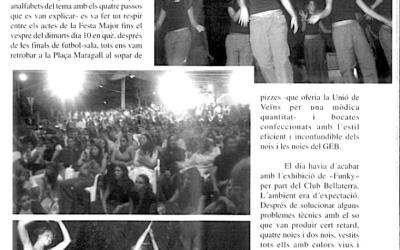 Recordeu com es vivien i s'explicaven les festes de Bellaterra? FM 2002: Funky i paelles