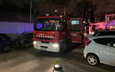 Petit incendi al Club Bellaterra
