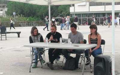 """Un dels encausats pel 23-S parla sobre la """"criminalització del carrer"""" a la UAB"""