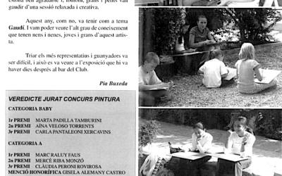 Recordeu com es vivien i s'explicaven les festes de Bellaterra? FM 2002: pintura ràpida
