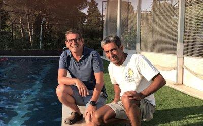 """Daniel Blabia: """"Creuar l'estret de Gibraltar és com creuar l'AP-7"""""""