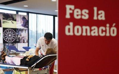 La ciutat acollirà campanyes de donació de sang cada 15 dies durant l'estiu