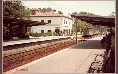 Una gran modernitat: la coberta de l'andana de l'estació