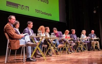 L'espai públic, les inversions i l'habitatge centren el debat dels 10 candidats a l'alcaldia