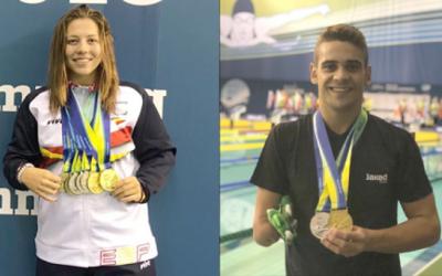 Estudiants de la UAB triomfen al Campionat d'Europa de natació paralímpica