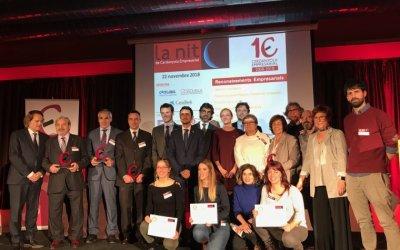 L'emoció i el 10è aniversari de l'associació marquen la 7a Nit de Cerdanyola Empresarial