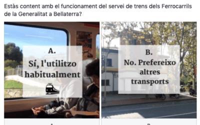 Estàs content amb el funcionament del servei de trens dels Ferrocarrils de la Generalitat a Bellaterra?