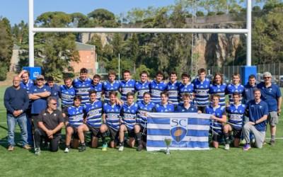 Dos bellaterrencs, campions Sub-18 de rugby de Catalunya amb el Sant Cugat