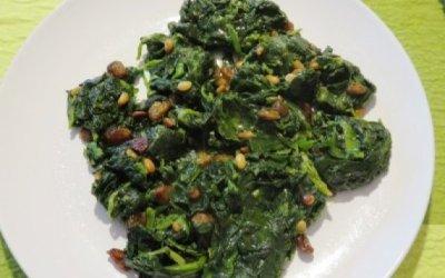 Una de verda: espinacs a la catalana