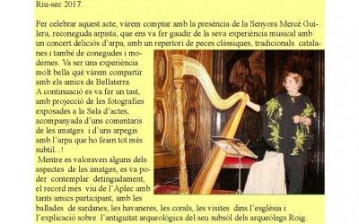 Butlletí de febrer d'Amics Sant Pau de Riu-Sec