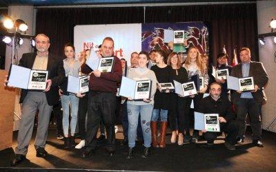Tots els guanyadors de la 5a Nit de l'Esport de Cerdanyola