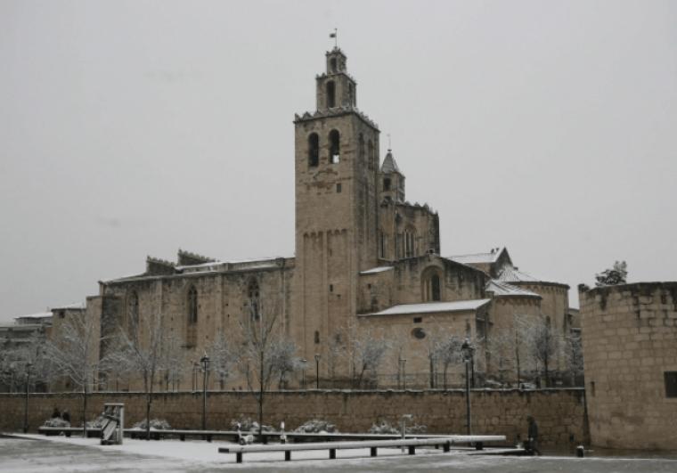 Imatge de la nevada del 2013