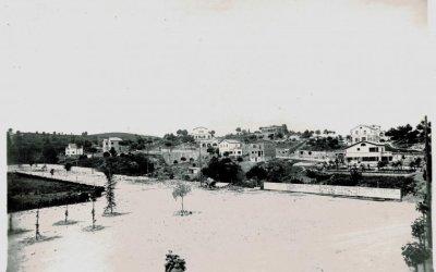 La plaça del Pi de Bellaterra el 1930