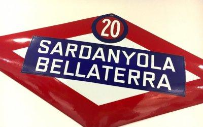 Intent de canvi en la retolació de Bellaterra