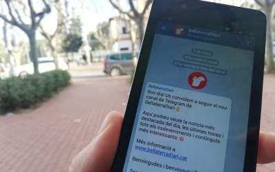 BellaterraDiari obre un nou canal de distribució per Telegram