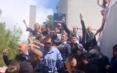 L'oposició a l'Ajuntament condemna els aldarulls a l'acte de 'S'ha acabat' a l'Autònoma
