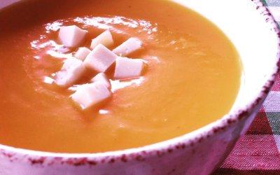 Crema de carabassa per escalfar l'estómac