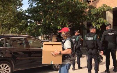 Els detinguts per la Guardia Civil, acusats de terrorisme per l'Audiència Nacional