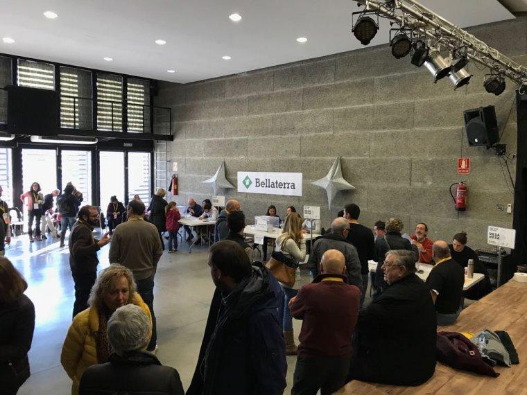 La jornada electoral al Centre Cívic
