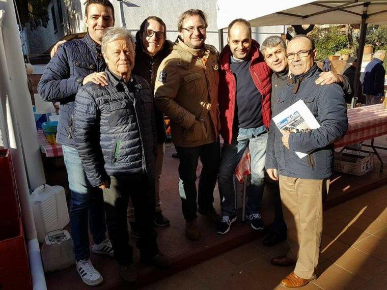La junta local del PP a Cerdanyola amb el diputat Villagrasa