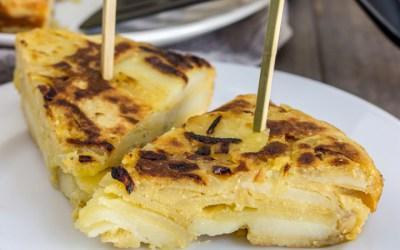 Una truita sense ous: recepta de la truita de patates vegana