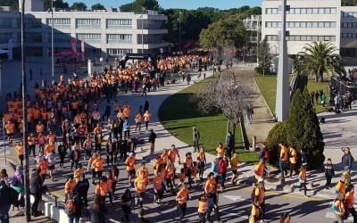 La Cursa solidària de la UAB ha aplegat 2.280 participants