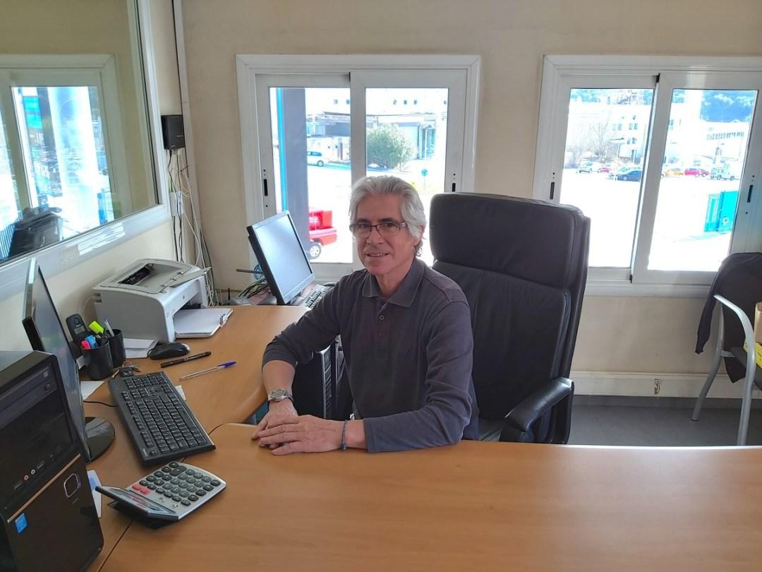 Miquel Julià és el gerent d'Energètics des de la seva fundació fa 40 anys