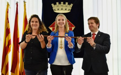 """Mireia Ingla es compromet a treballar perquè """"cap persona es quedi enrere"""" a Sant Cugat"""
