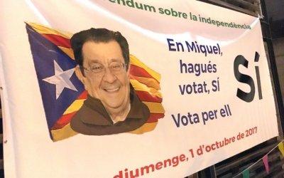 """Miquel Hernández presideix el """"Sopar a la Fresca"""" de l'ANC de Bellaterra"""