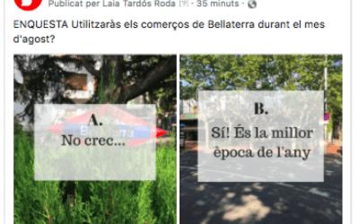 Utilitzaràs els comerços de Bellaterra durant l'agost?