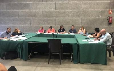 Els agents cívics i les intervencions sobre l'annexió centren el primer Ple de mandat