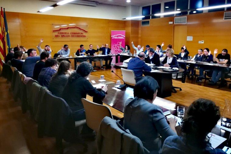 Sessió del ple comarcal de 23 de novembre de 2017