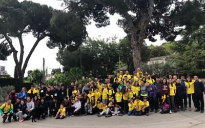 El Bellaterra – Montserrat aplega a un centenar de persones tot i el mal temps