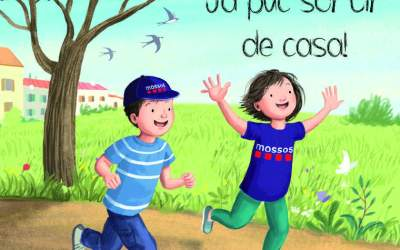 Els Mossos col·laboren en un llibre pel desconfinament dels més petits