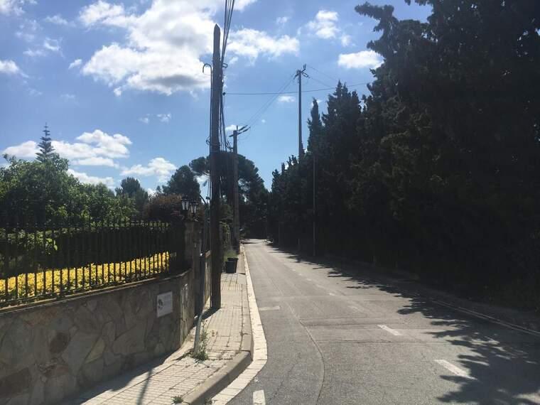 Zona del carrer Salcillo que estarà afectada per les obres