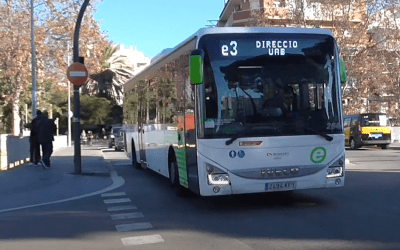 Canvis en el recorregut de la línia e3 d'autobusos, amb parada a la Vila