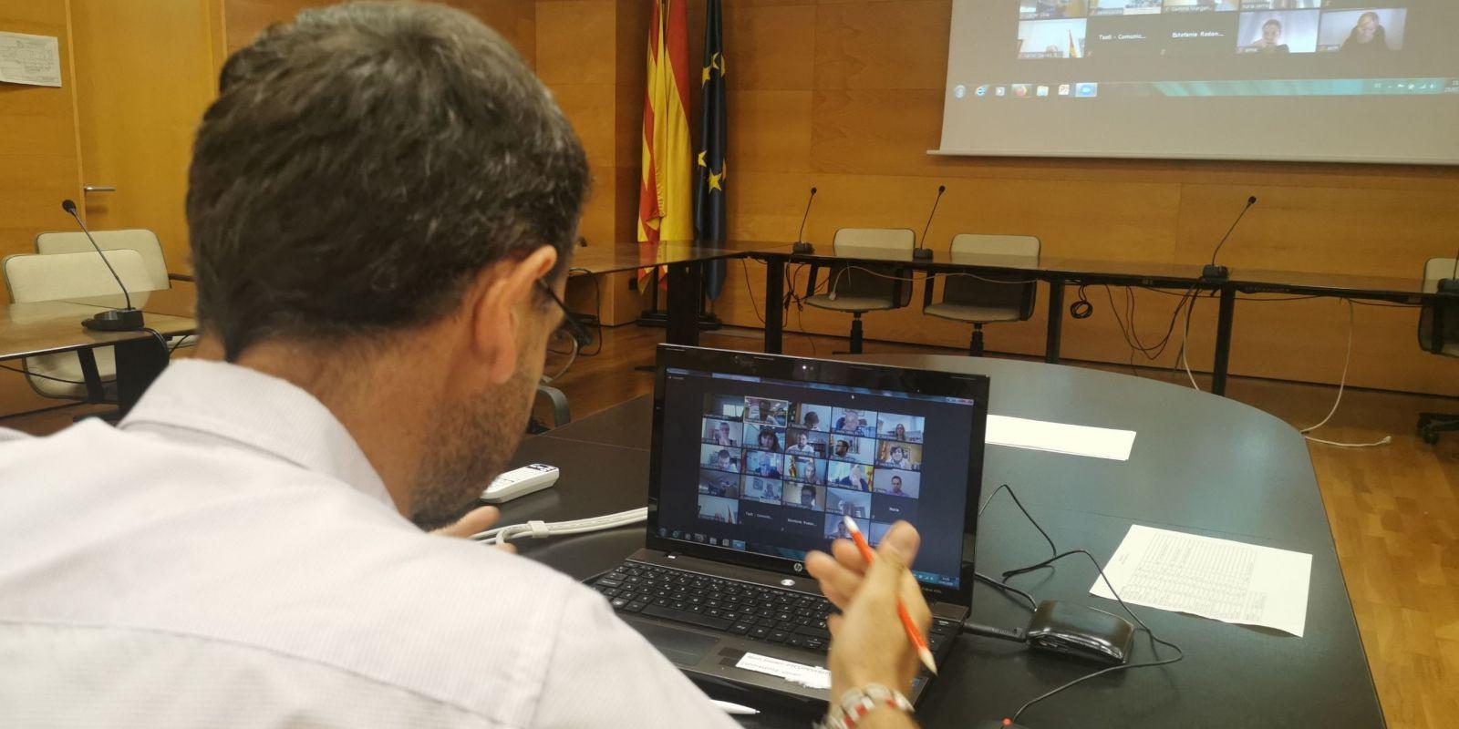 Reunió telemàtica del Consell d'Alcaldies | CCVO