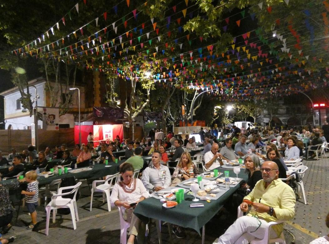 Sopar de Festa Major de la Unió de Veïns 2019 | Toni Alfaro